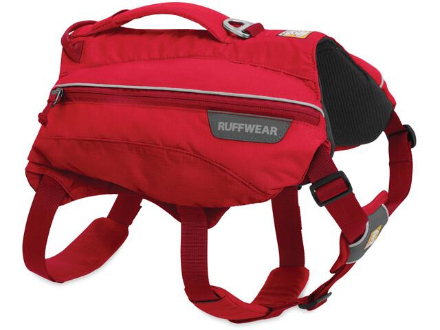 Ruffwear Singletrak Pack Reppu, red currant